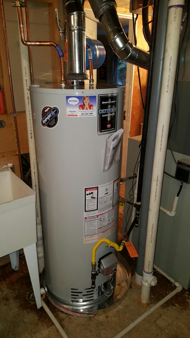 Centennial, CO - Bradford White water heater installation