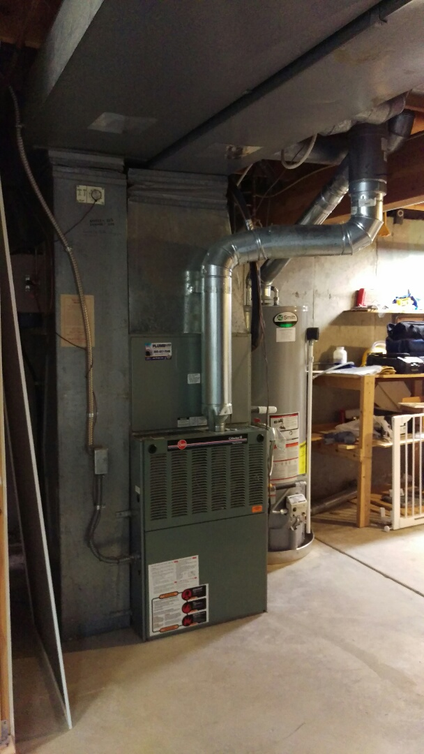 Centennial, CO - Smart homeowner, investigating equipment replacement before the summer heat. Trane multi-stage equipment wanted