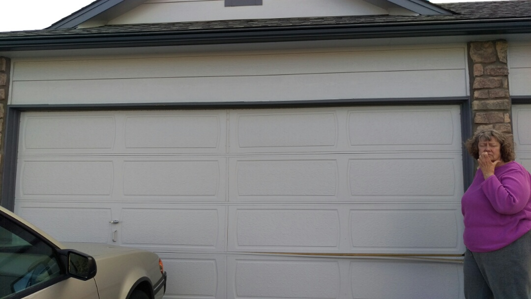 Parker, CO - This home is going to look beautiful with the new garage door we are going to install