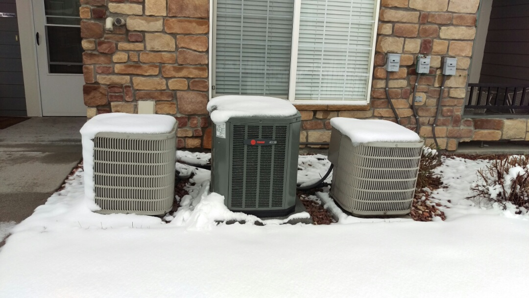 Castle Rock, CO - Air conditioner was replaced by us a few days ago. Trane XR13
