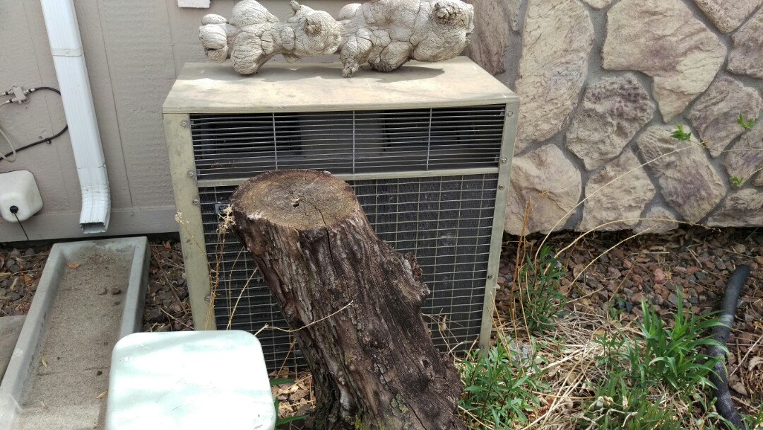 Aurora, CO - Time to replace this old air conditioner.