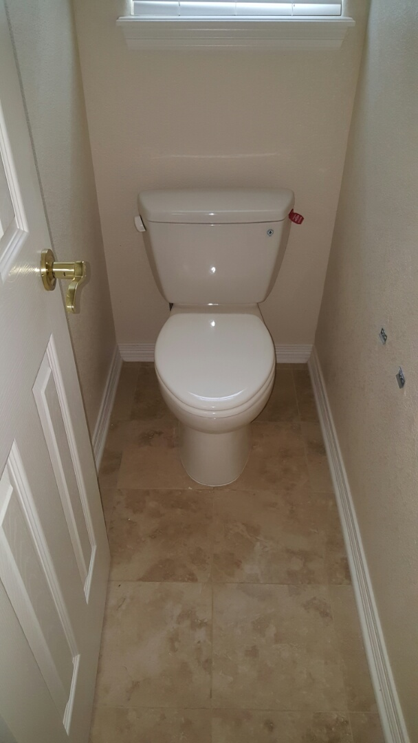 Aurora, CO - Toto toilet replacement for a service agreement member.