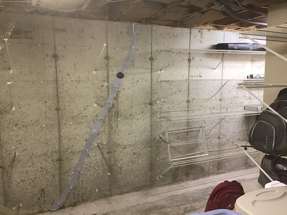 Wildwood, MO - To help the close of the sale we injected one vertical crack with a lifetime and structure waterproofing warranty