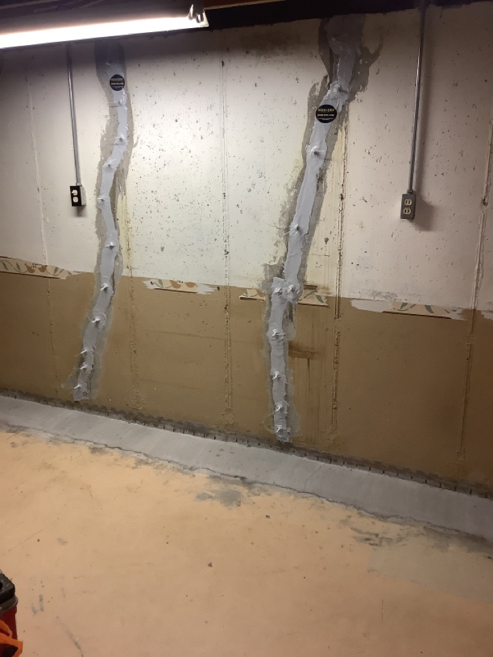 Saint Charles, MO - Basement crack repair with lifetime structure warranty