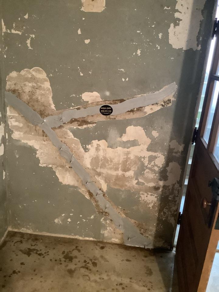 St. Louis, MO - Basement crack repair with lifetime structure warranty