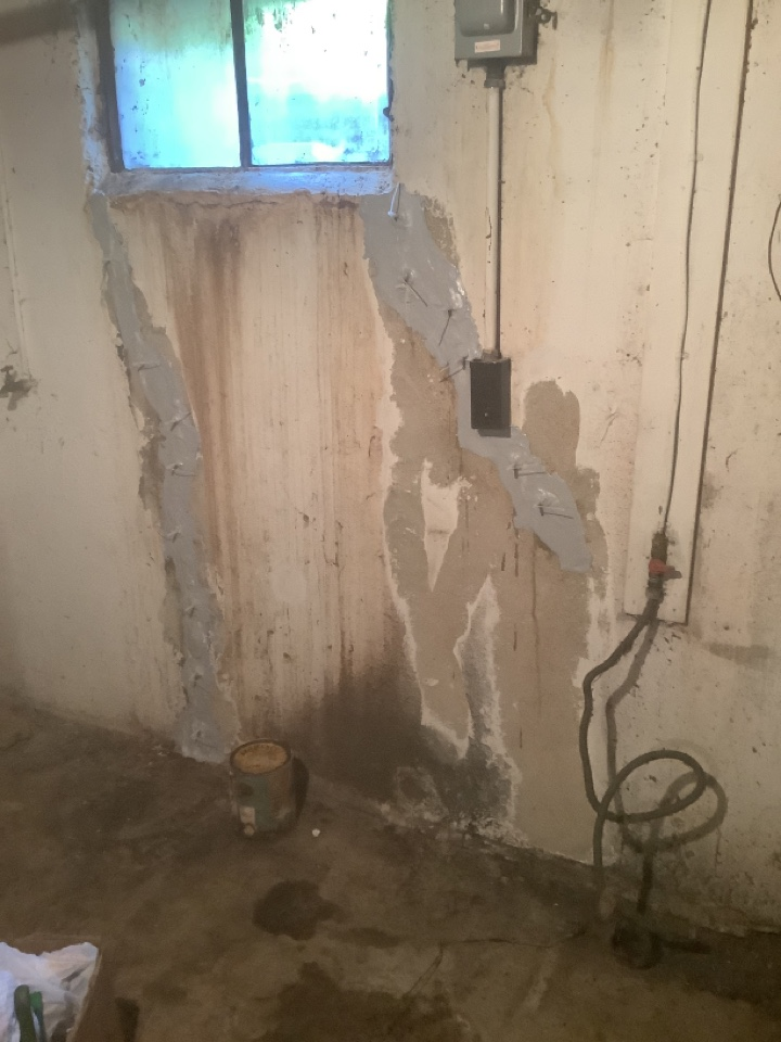 Pacific, MO - Basement crack repair
