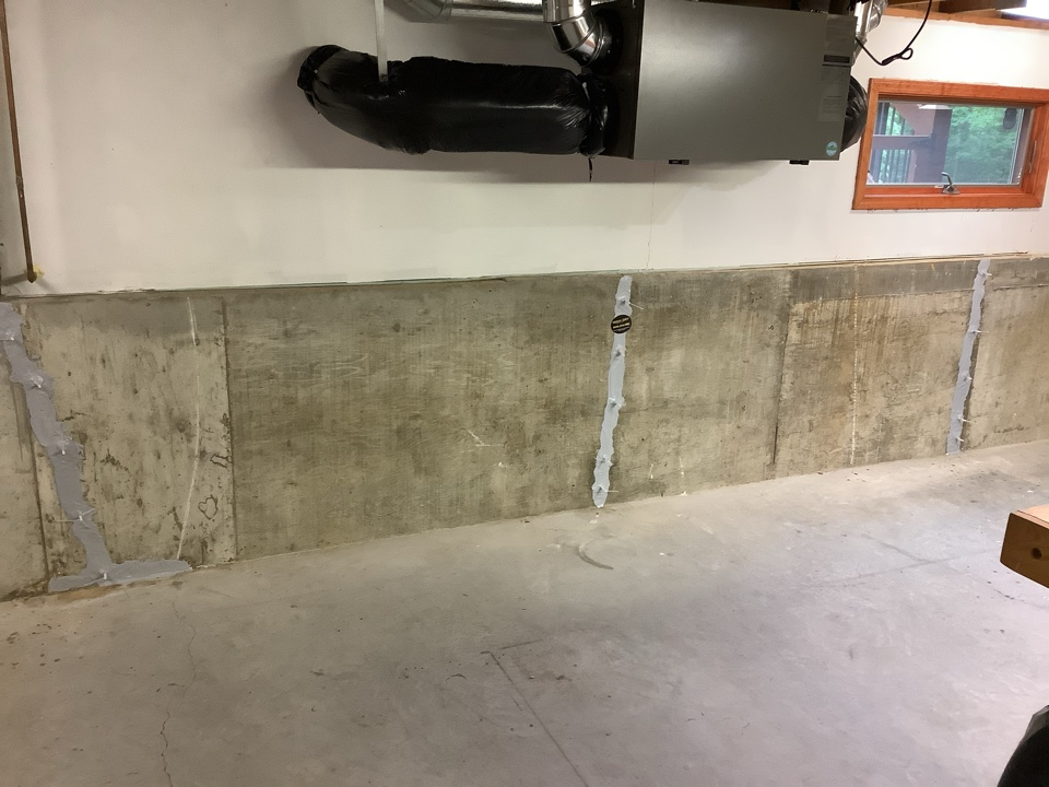 Crack repair with lifetime structural warranty