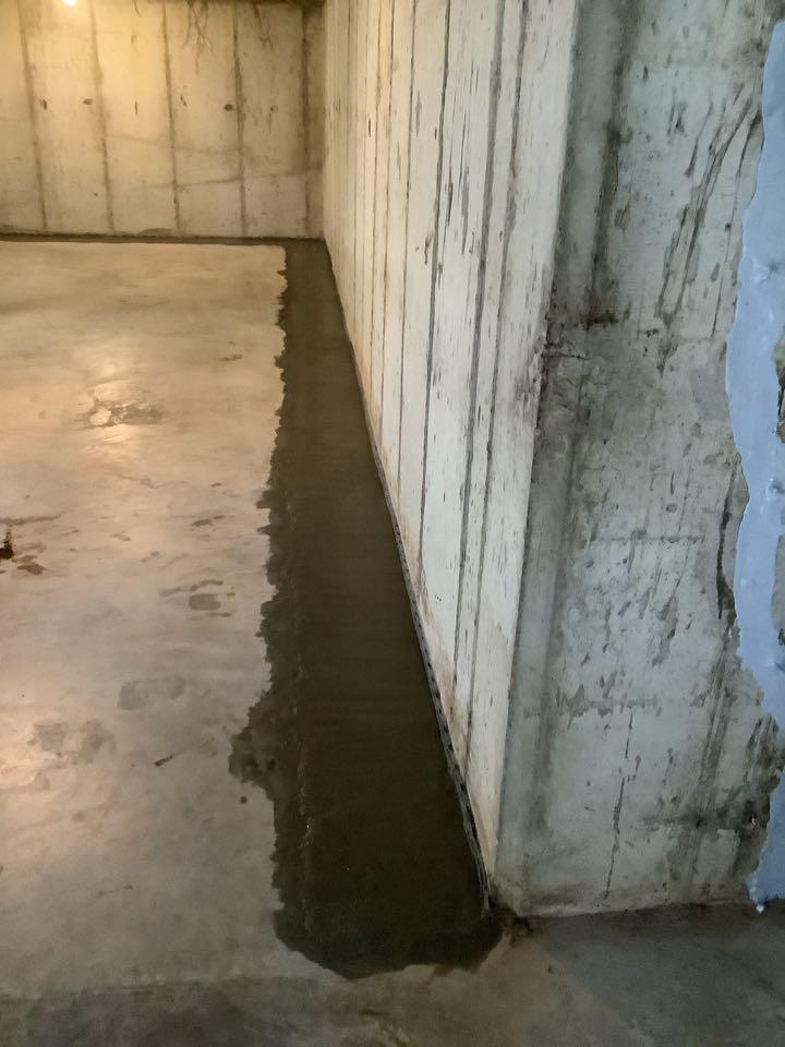 Sump pump drain system