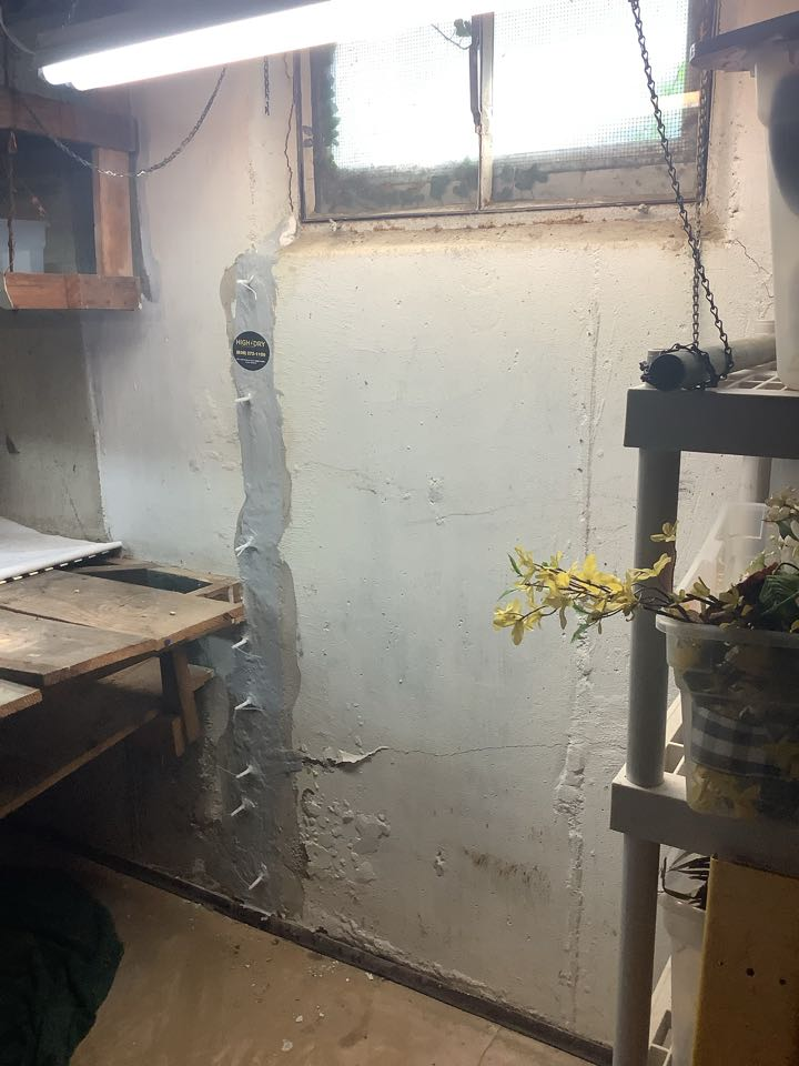 We injected one crack awful window behind the workbench, they now have an automatic transfer the waterproofing warranty and no longer have to be afraid of water in their basement from that crack!