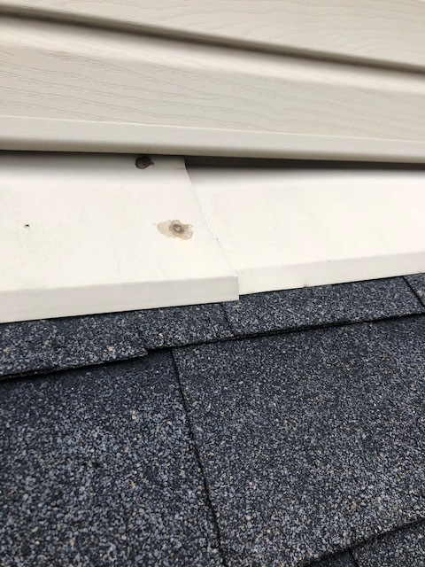 Lexington, KY - Helped a customer who had recently sold their house and the Home Inspector found a loose piece of flashing.  Fixed it for them and helped them check that off their list.