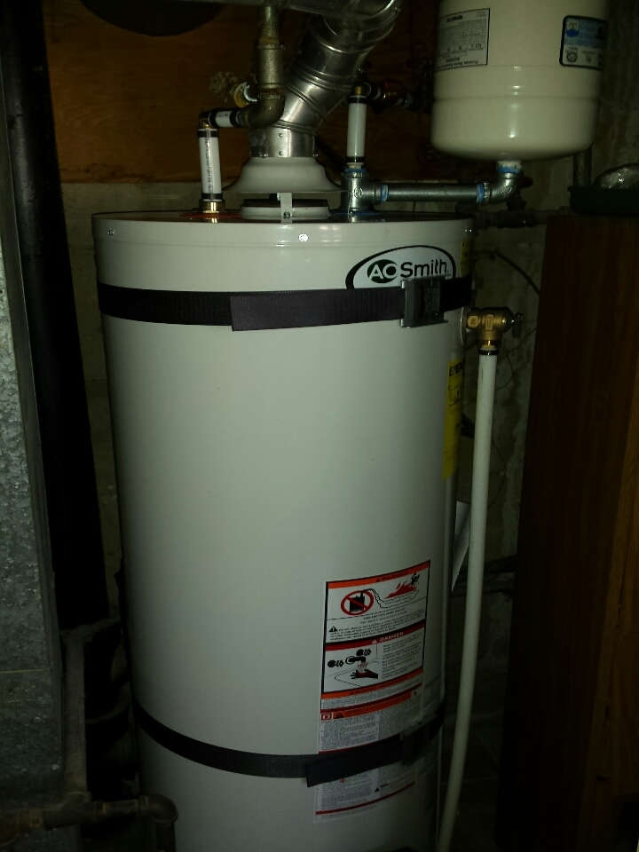 Riverdale, UT - Installed a residential water heater in Riverdale