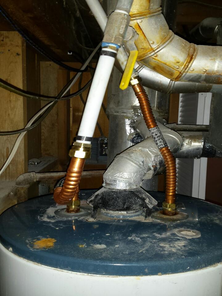 Bountiful, UT - Water heater leak