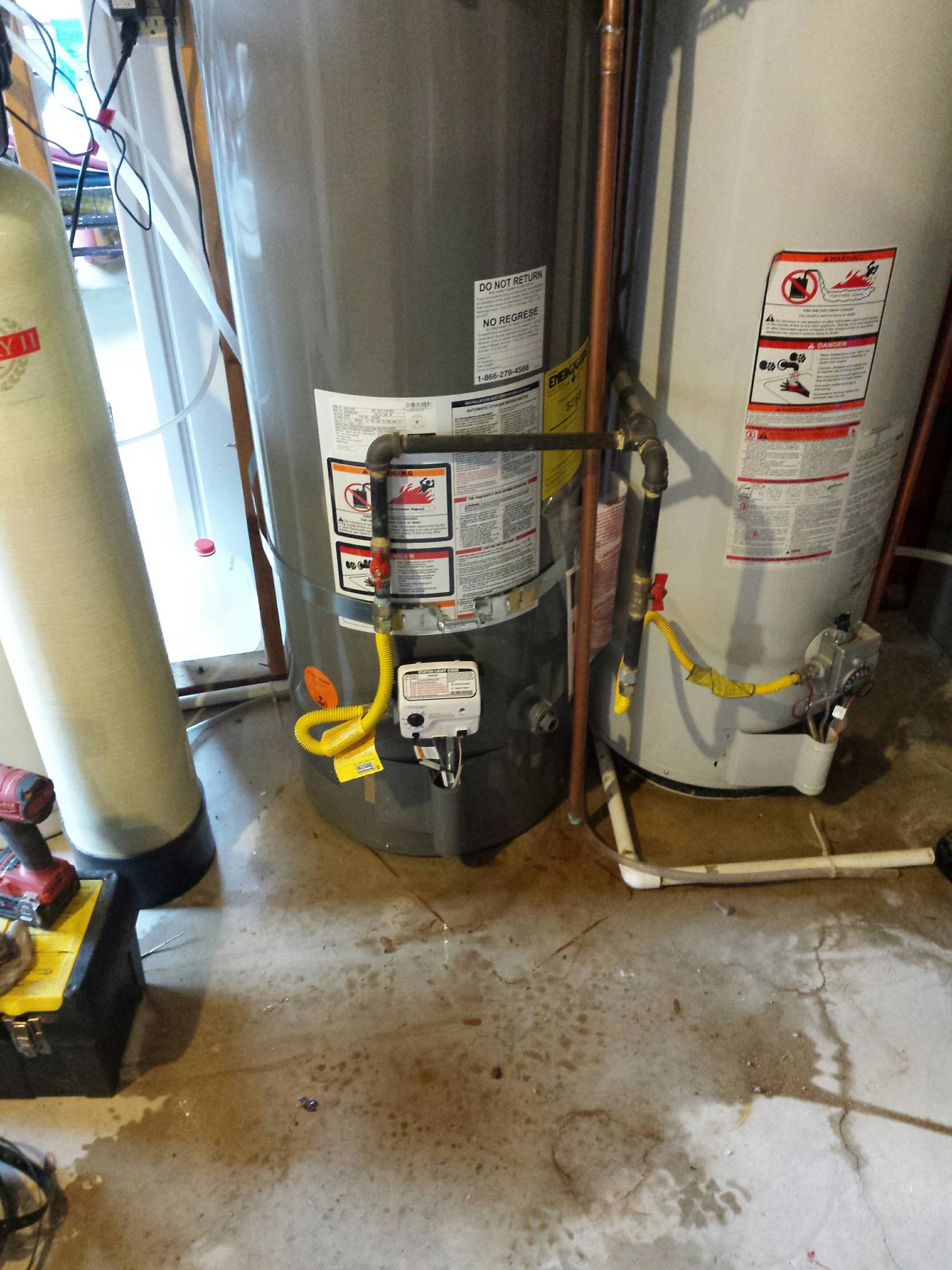 Kaysville, UT - Water Heater Installation