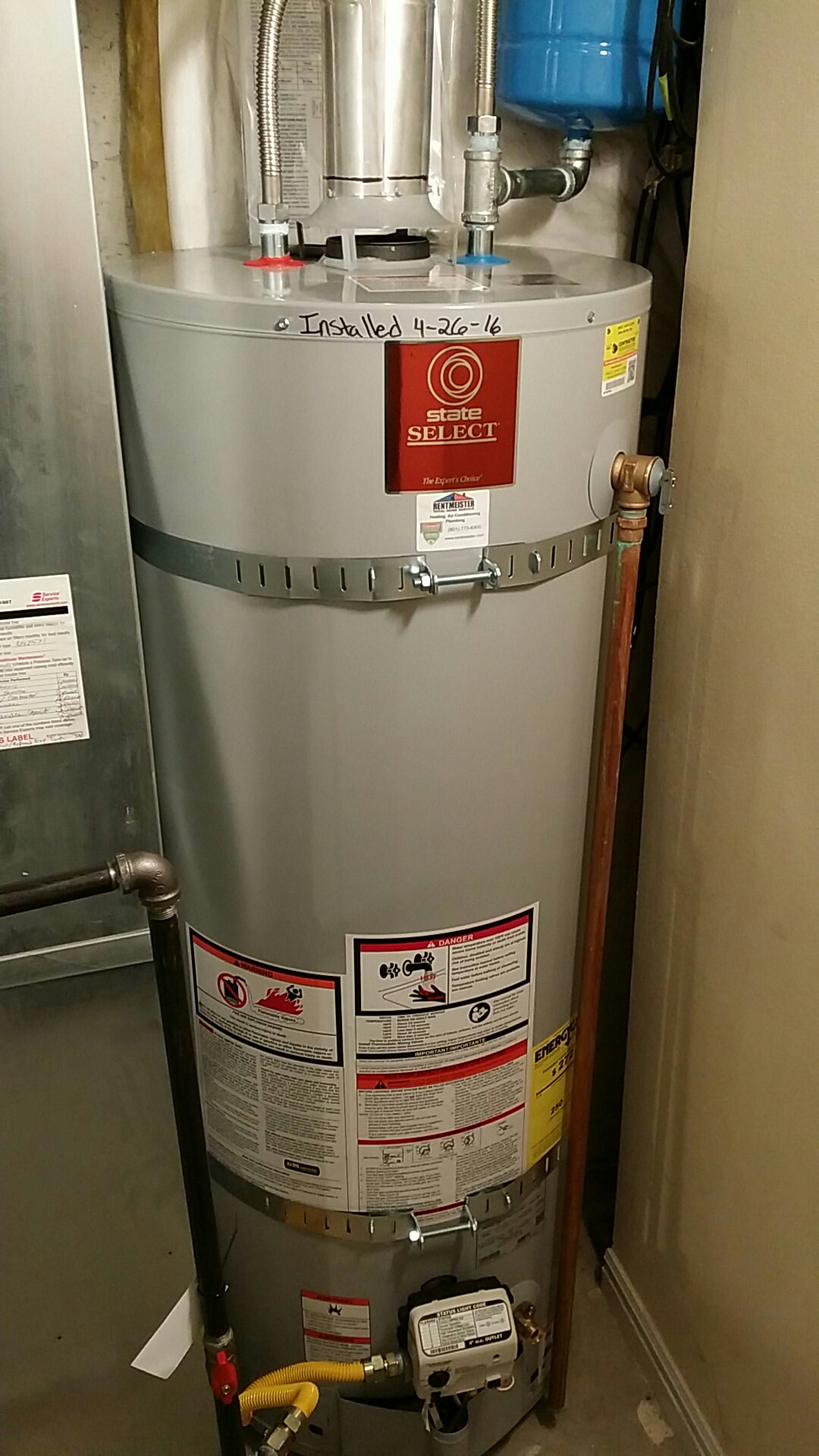 Clearfield, UT - Water heater replacement and water softener installation