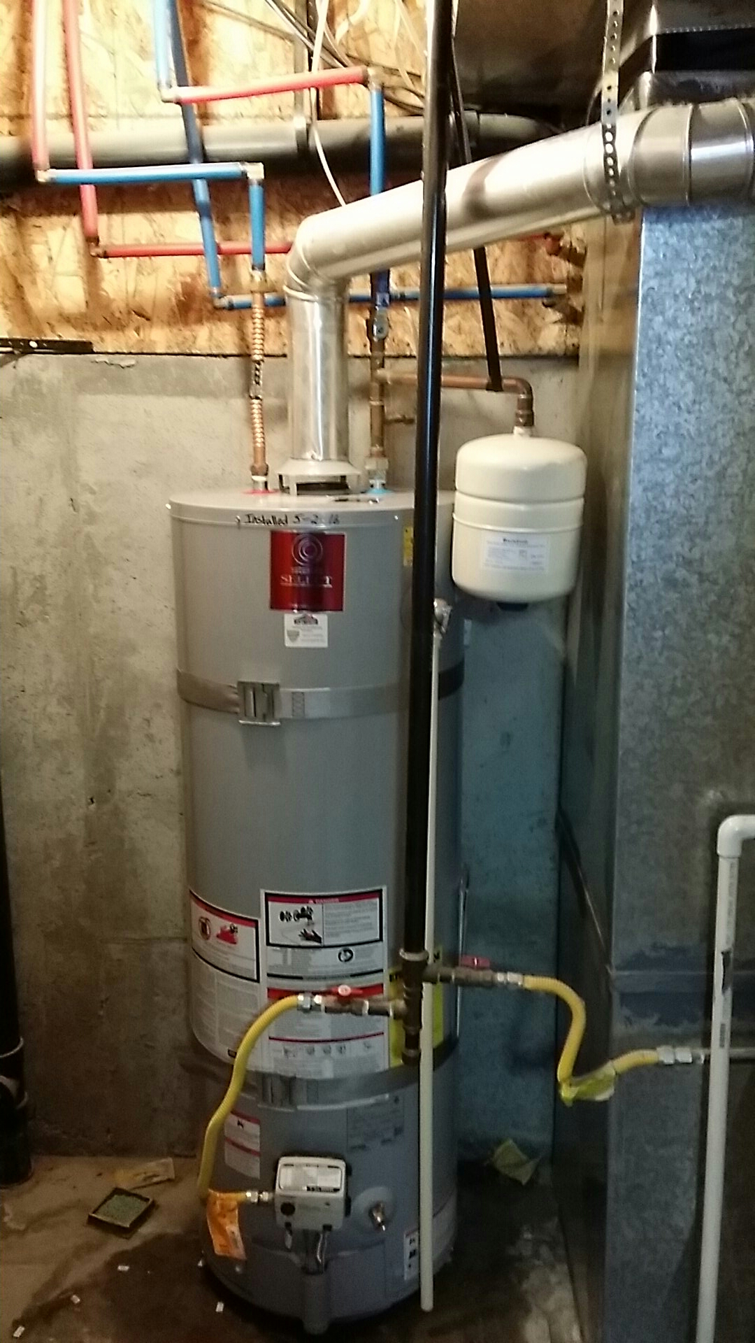 Syracuse, UT - Water heater replacement