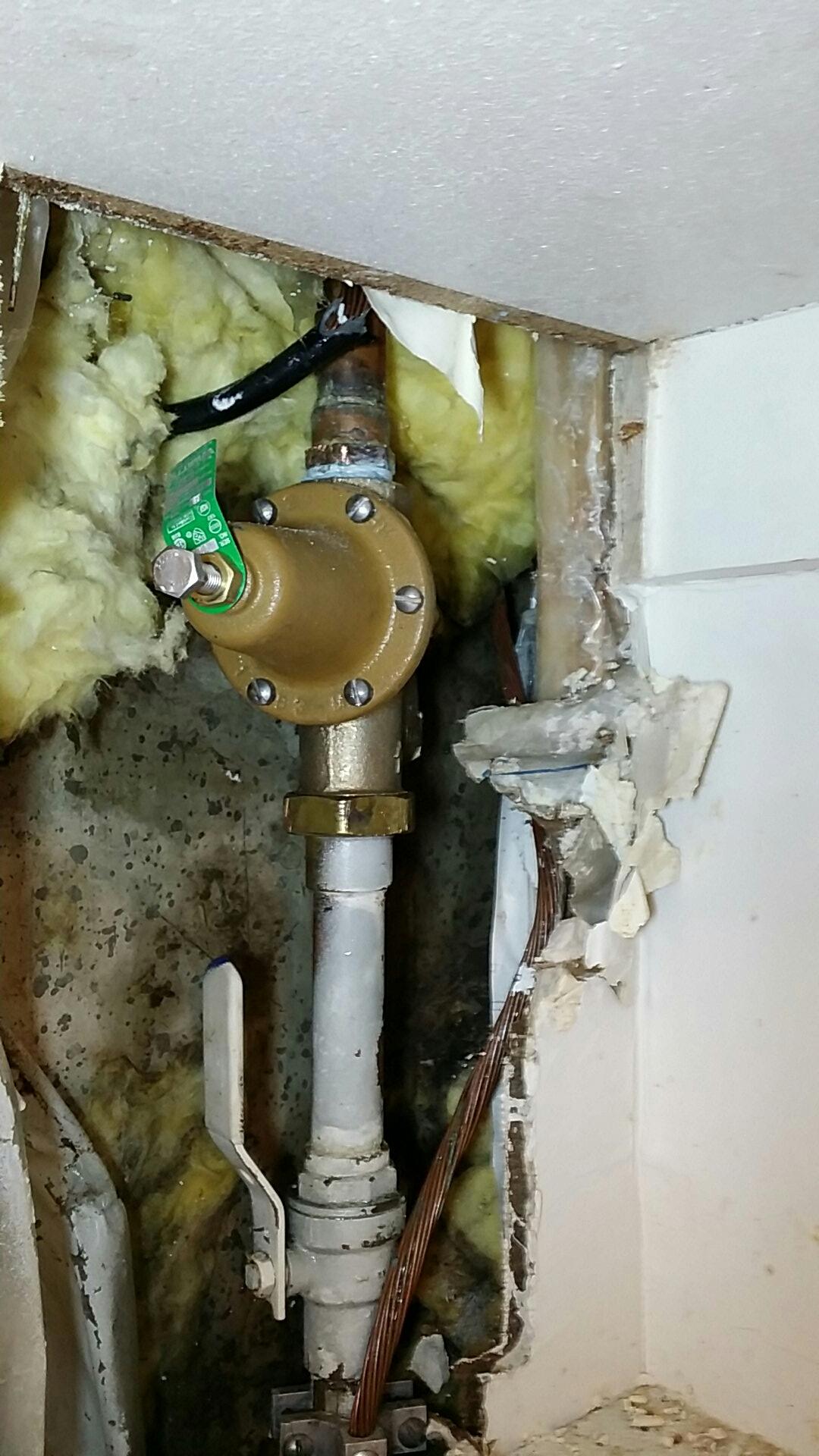 "Salt Lake City, UT - 1"" pressure regulator"