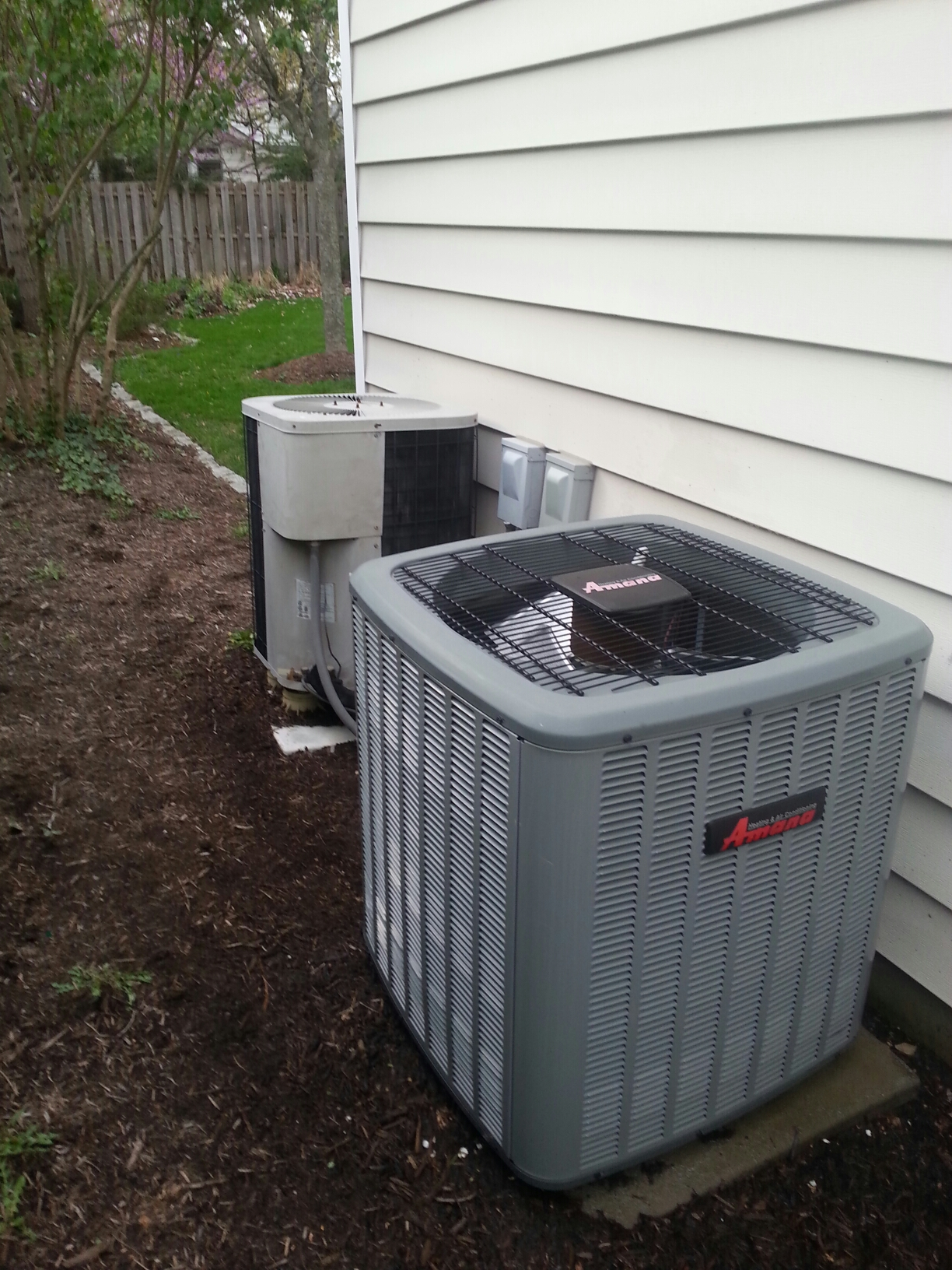 Upper Arlington, OH - Tune ups on a Amana and Goodman air conditioning units.