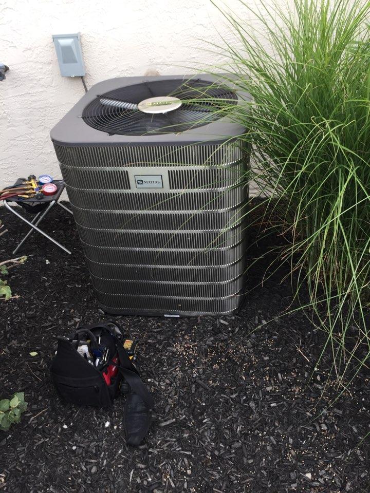 Sunbury, OH - Maytag AC tuneup