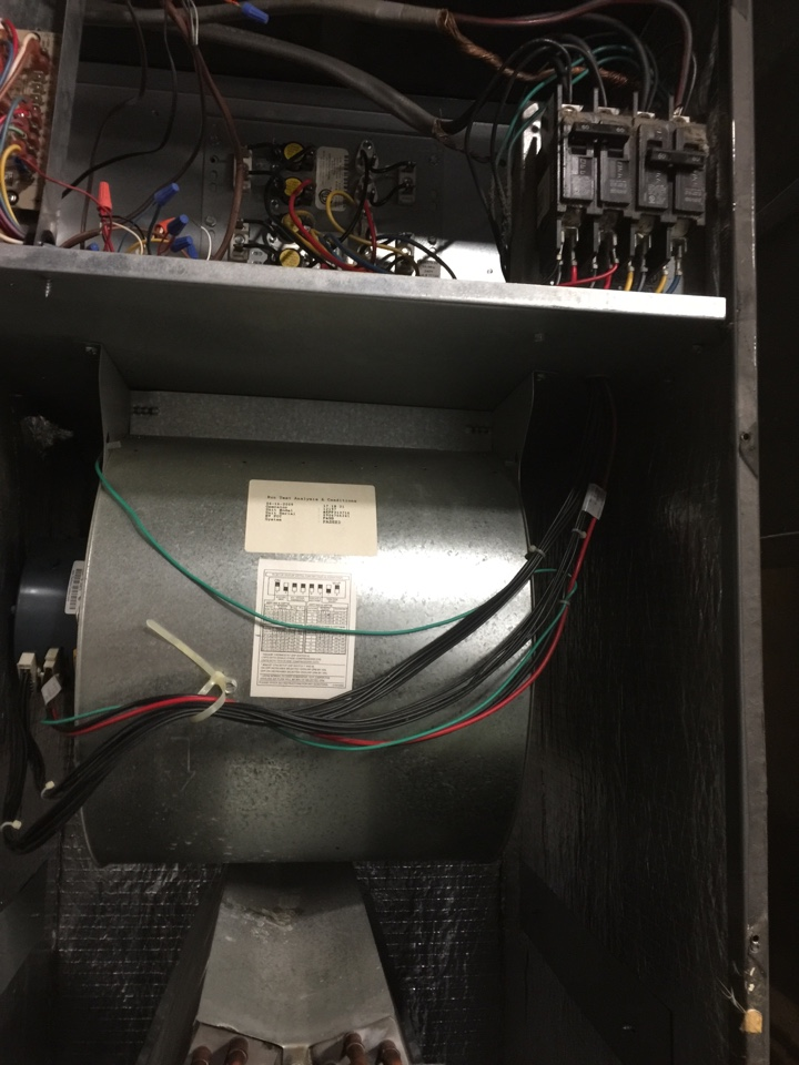 Worthington, OH - Tune up of a One Hour electric furnace.