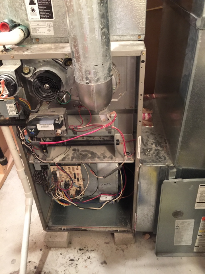 Sunbury, OH - Furnace tuneup for a Bryant Gas Furnace
