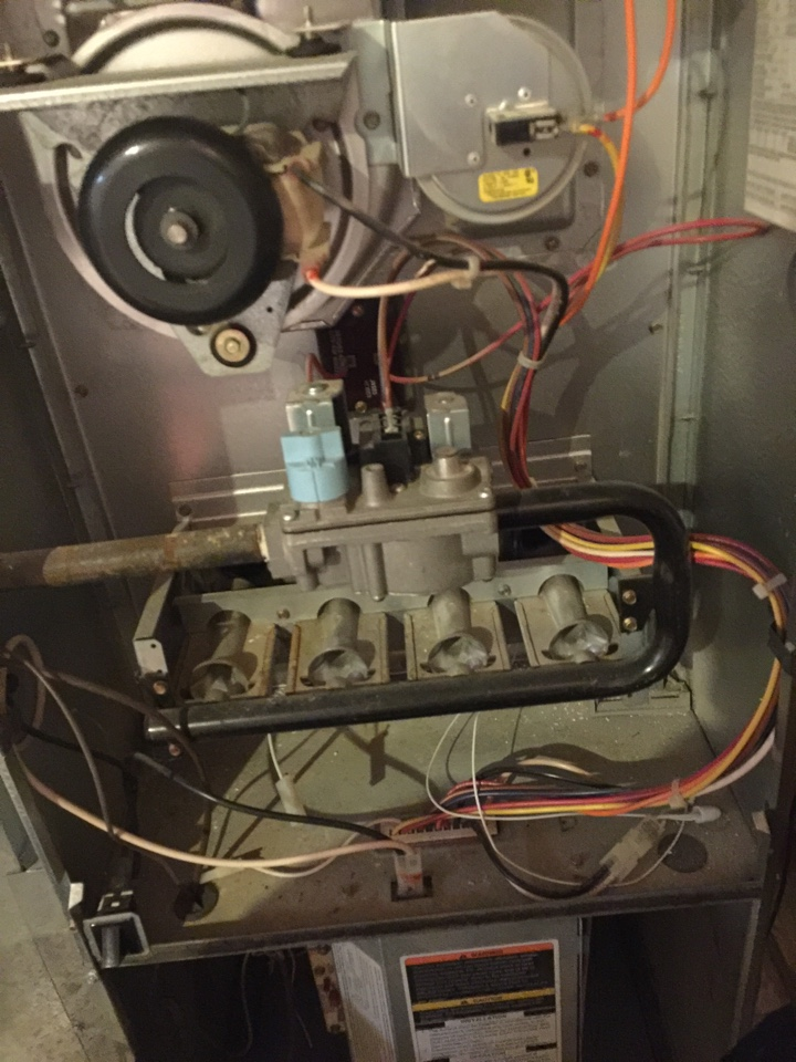 Powell, OH - Bryant furnace service