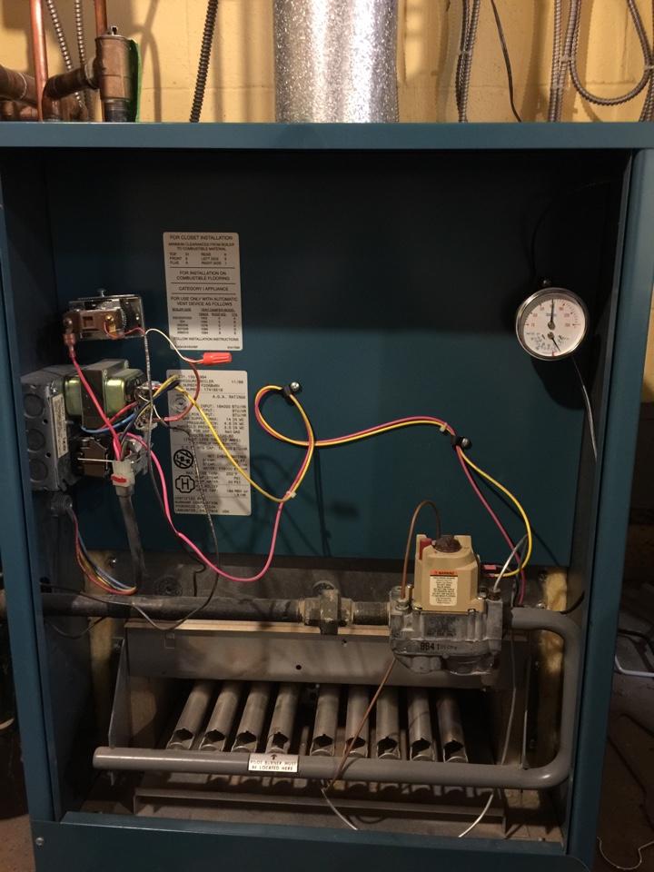 Upper Arlington, OH - Burnham boiler service