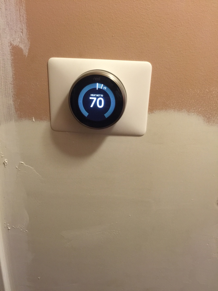 Hilliard, OH - Nest Thermostat Install