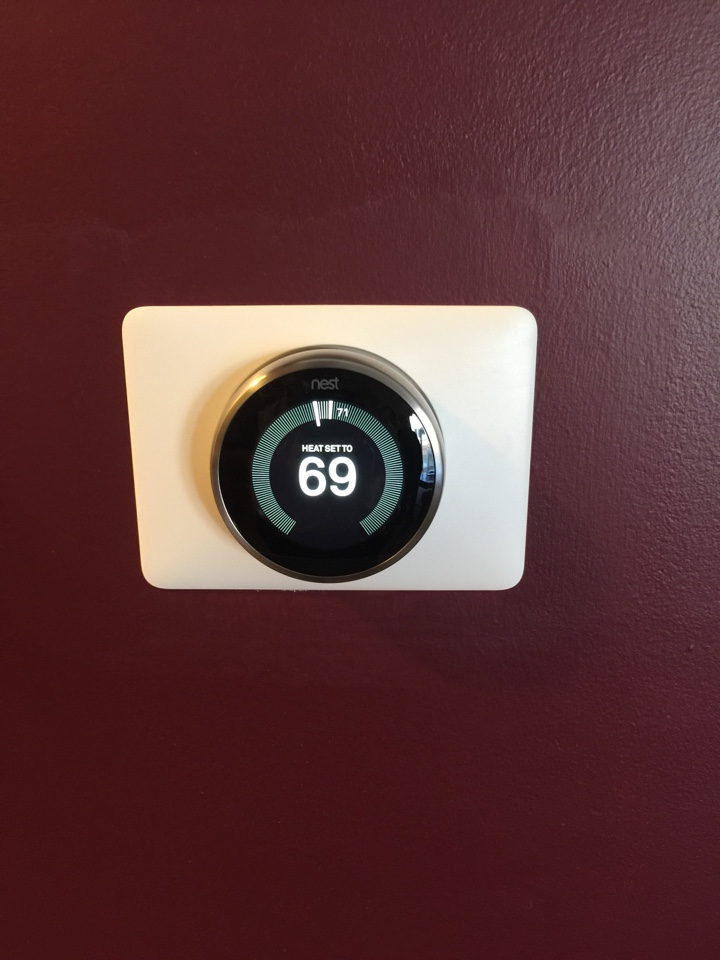 Hilliard, OH - Nest thermostat install!