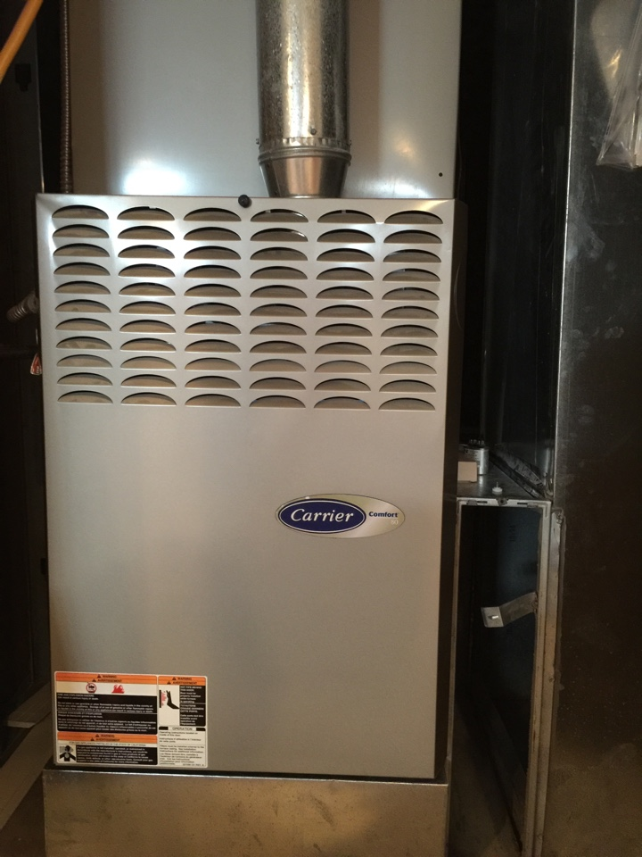 Hilliard, OH - Tune up on a 10 year old carrier gas furnace