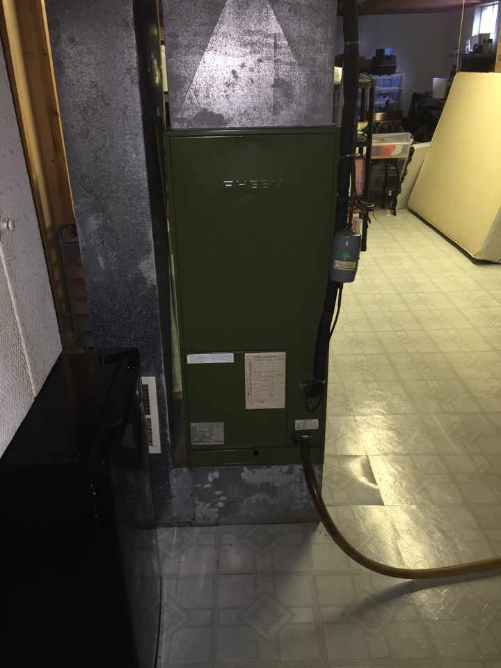 Groveport, OH - Tune up on a 30 year old Rheem electric furnace