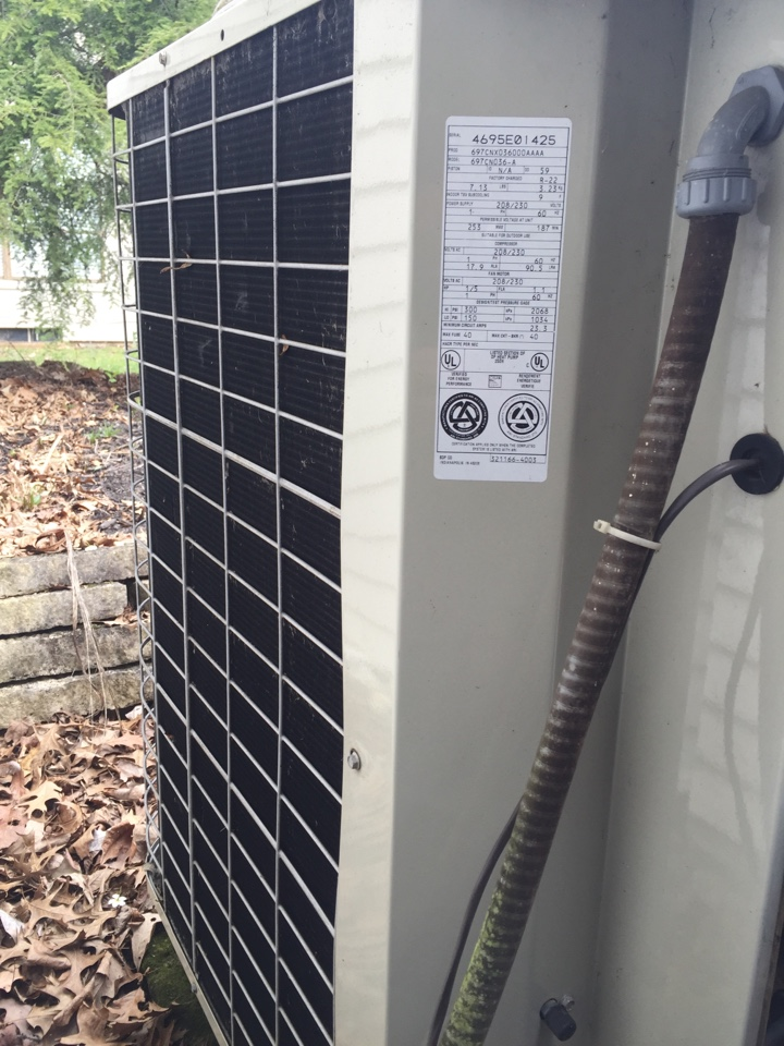 Dublin, OH - Tune up of a ac unit.