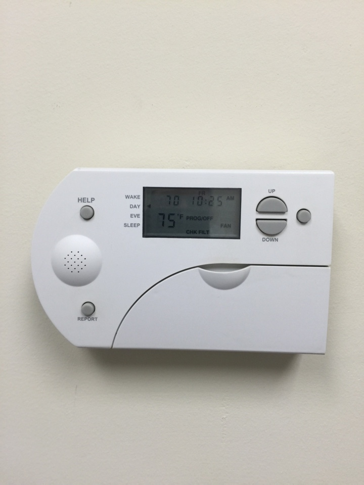 Lewis Center, OH - Service on Talking Thermostat