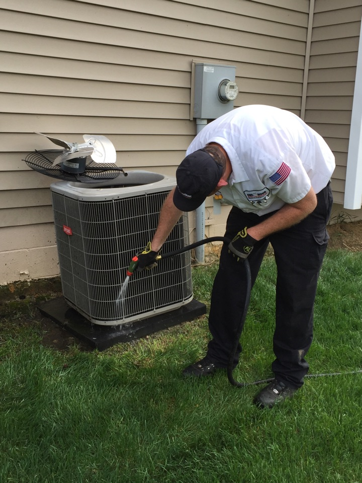 Galena, OH - A/C maintenance on Bryant Air conditioner
