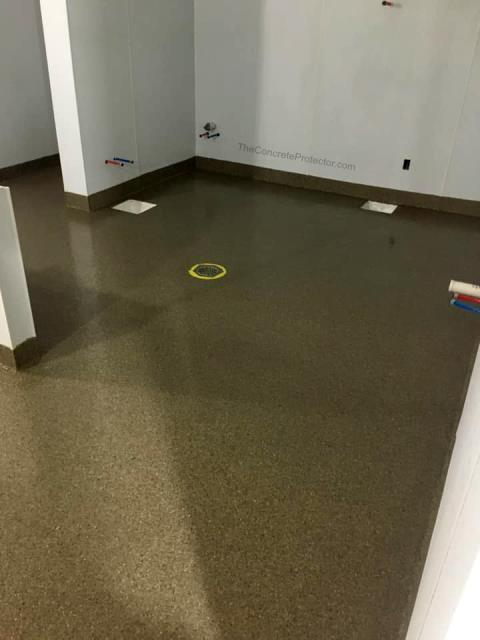 Commercial kitchens need floors that will last and protect against everyday messes. Graniflex is the perfect system! It's waterproof, slip resistant, stain resistant, and protects against chemical spills!!! Modify your kitchen today with a floor that will last!!