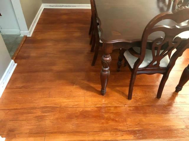 Replace that messy, stained, smelling carpet in your dinning room with a beautiful Rustic Wood floor! Protect against water spills, messes, and more while providing a decorative look that lasts for years!!
