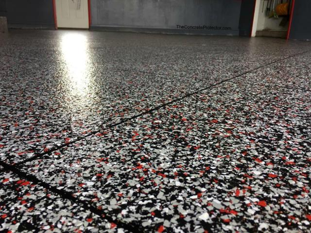 Look at that floor! Hard to believe it looks so great! Perfect quality! The price was fair! I have nothing bad to say about Xtreme Concrete Coatings. They can make some fantastic-looking decorative floors! I guarantee you'll love working with them!