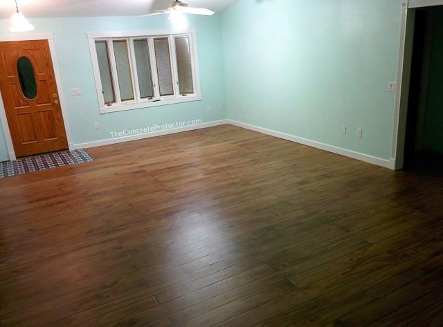 """If you haven't seen the wood floors that Xtreme Concrete does, you have to check them out! They can create a decorative wood coating like nothing you have ever seen! All unique """"boards"""", no patterns over and over again. And on top of that, they can customize it to your exact liking! Knots or no knots, nails or no nails, and they have so many shades to choose from!"""