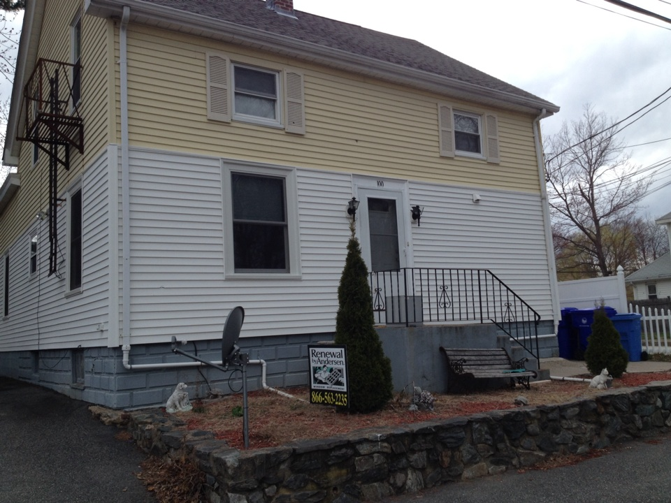 Pawtucket, RI - Alan in Pawtucket did the first floor of his two family with renewal by Andersen replacement windows. He used our low monthly payments. We make these replacement windows affordable to everybody