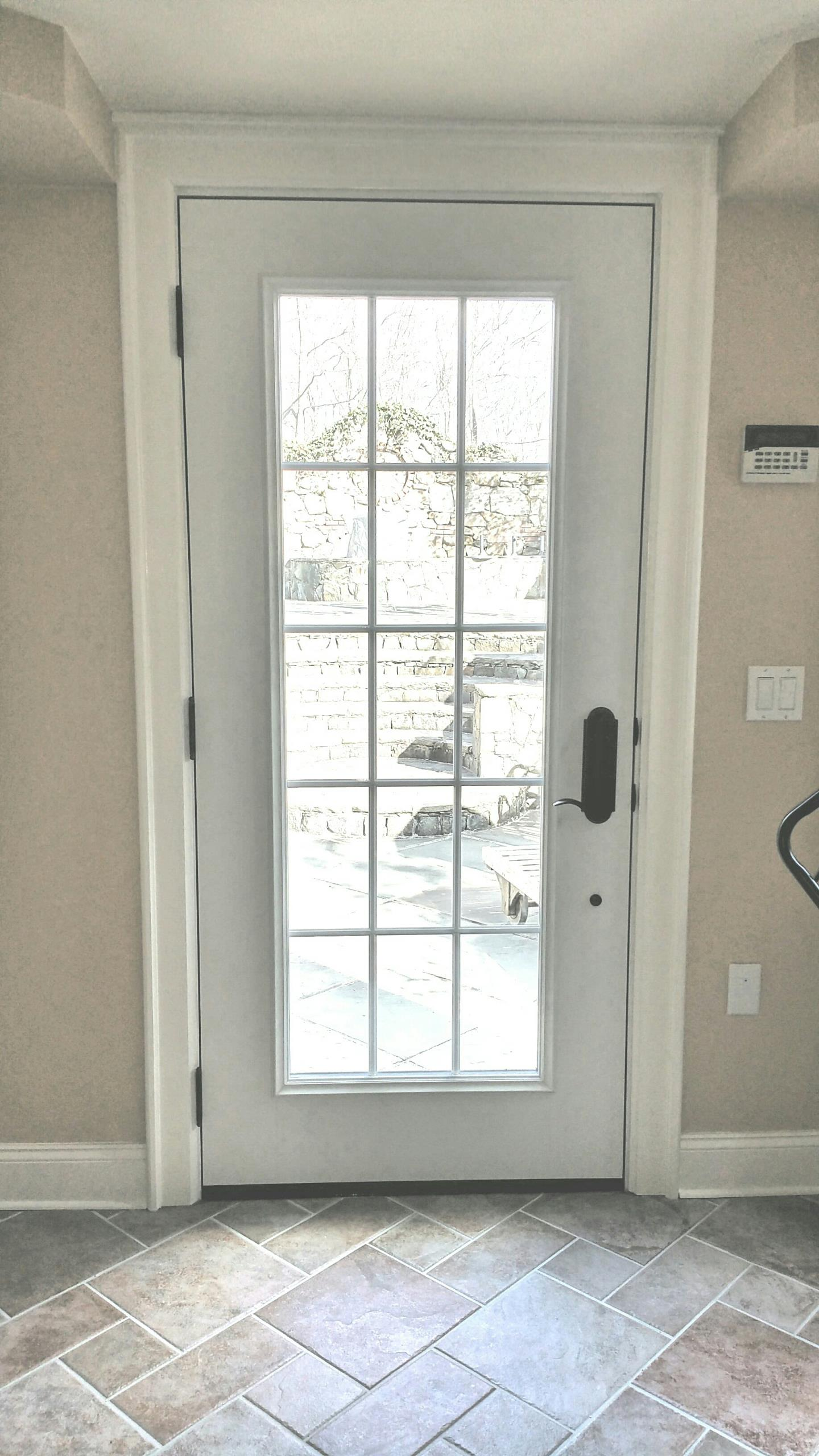 East Greenwich, RI - Renewal by Andersen even installs gorgeous entry doors and patio doors in addition to the best windows on the market. Check out this beauty in East Greenwich!