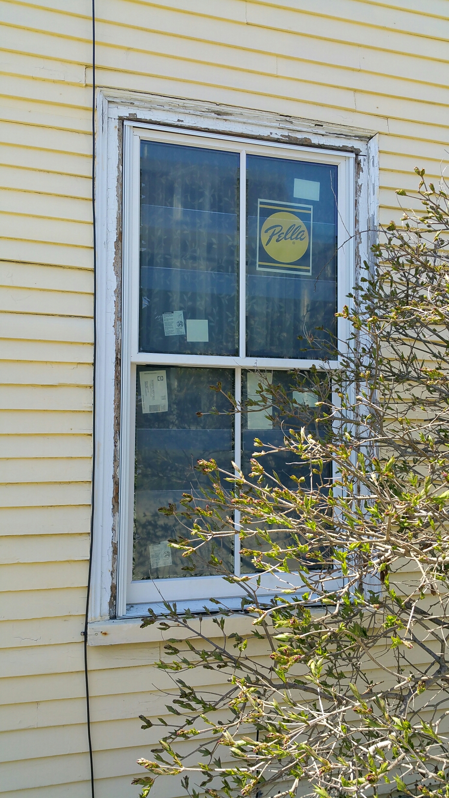 Newport, RI - Still think you should take your chance with a company that doesn't know how to install windows in an historic building? This is what will happen. Cheaper is never better, go with the company with the best window and the most experienced and professional installers in the business, Renewal by Andersen.