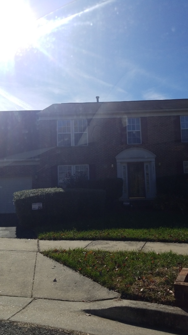 """Upper Marlboro, MD - 5"""" gutters, gutter Install, rotted fascia wood, rotted wood, leaking gutter"""