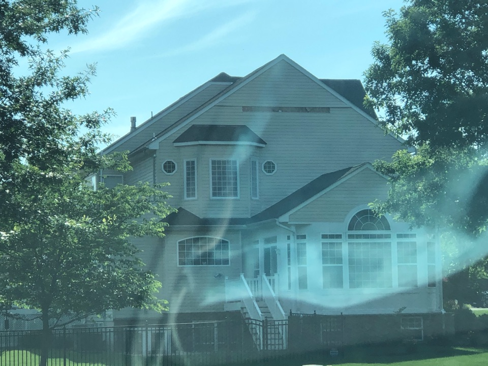 Dunkirk, MD - Insurance claim. Full roof replacement with Gaf . Timberline.