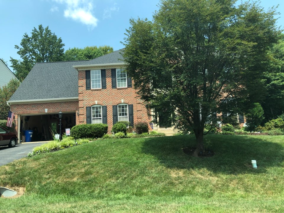 Chesapeake Beach, MD - Insurance claim, State Farm insurance, new full roof replacement, GAF timberline charcoal color