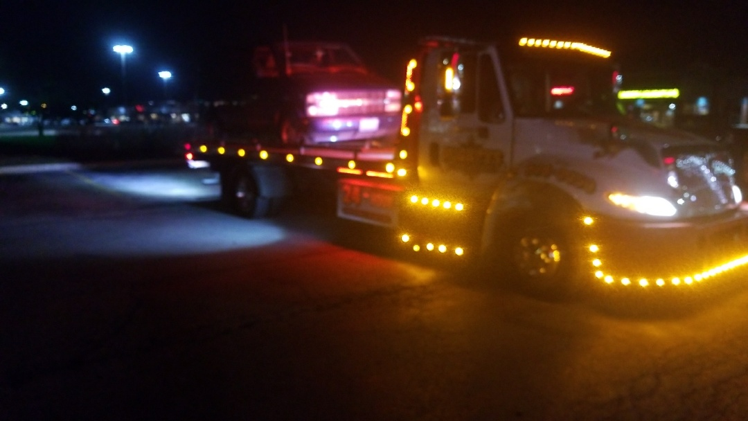 Local tow to the tire shop!