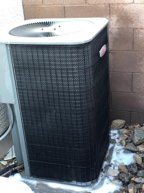 Las Vegas, NV - Performed our annual maintenance tune up on Lennox 4 ton A/C unit.