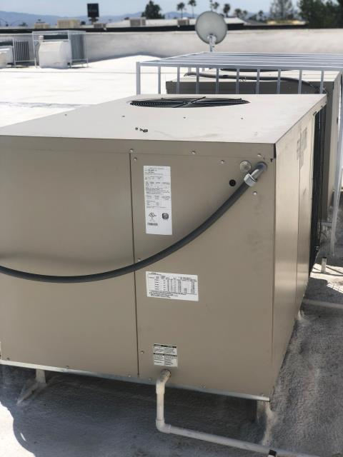 Las Vegas, NV - Install new Compressor for a Ducane brand 4 ton R22 packaged heat pump Air Conditioning  unit.