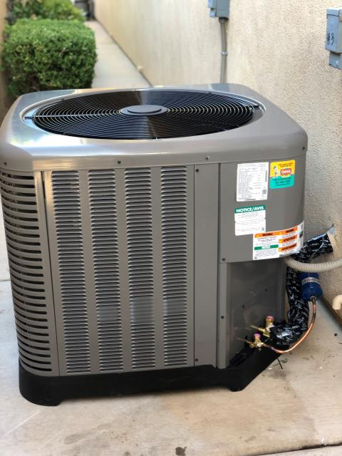 Las Vegas, NV - Install 3 ton RUUD brand 16 seer complete split system in Ridges community. 10 years parts warranty included