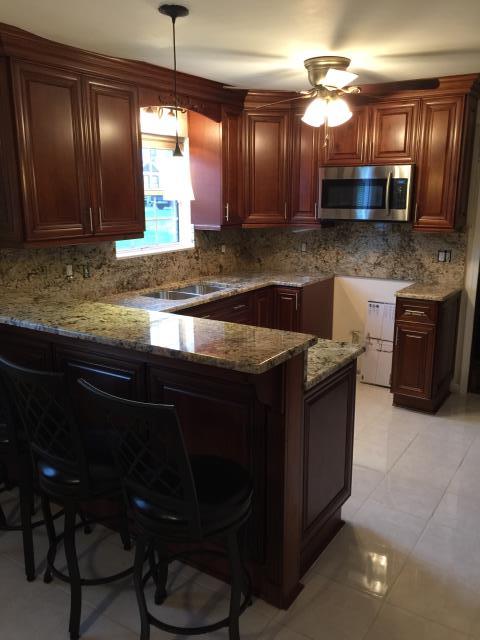 cabinets granite countertops in short pump va panda. Black Bedroom Furniture Sets. Home Design Ideas