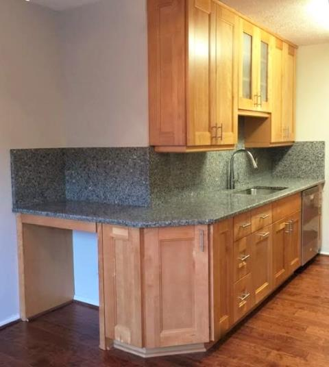 Richmond, VA - I really enjoyed helping this client take an outdated kitchen in a property she just purchased and making it her own.