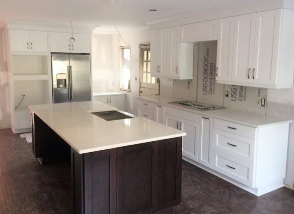 Richmond, VA - We can't wait to see this kitchen completely transformed with tile, light fixtures and state of the art appliances!